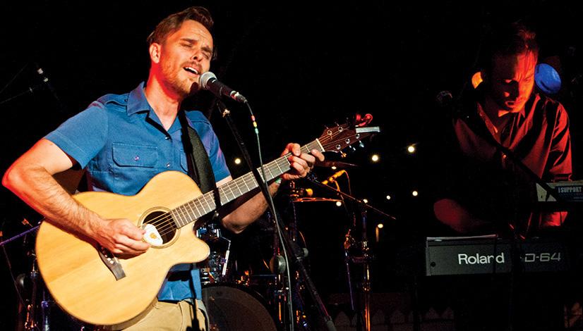 Ben Allen singing