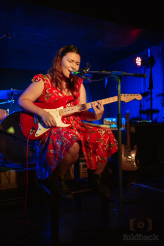 Serina Pech at Mel Gray - Single Launch